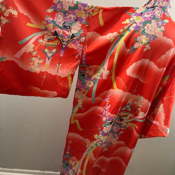 Vintage 1990's Japanese Kimono - image 8