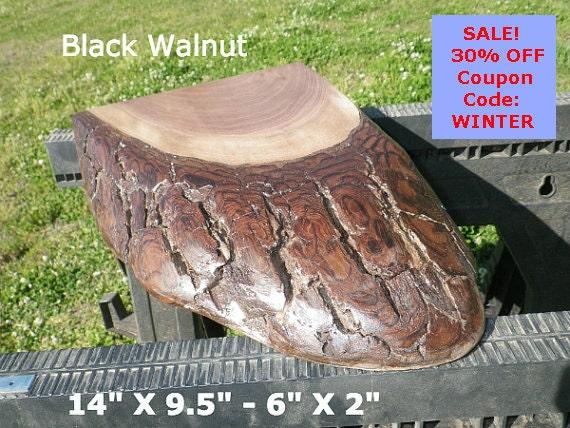 Live Edge Black Walnut Wood Slab Finished DIY Floating Shelf, Natural Edge  Shelving, Photo Ledge, Bathroom Shelf, Corner Shelf, Trivet 0090