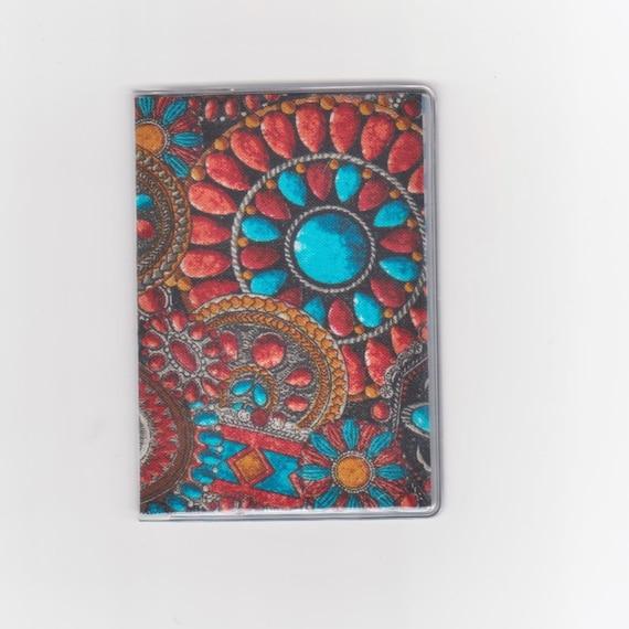 Cartes De Visite Sud Ouest Native American Bijoux Tissu Carte Portefeuille Cadeau Titulaire Bus Croisire Mtro
