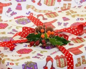 Christmas Gift Wrap 2 pack - Comfort and Joy Christmas - Gift Wrap - Wrapping Paper - Gift Wrapping - Christmas Wrap - Christmas Paper