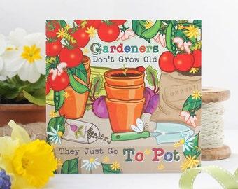 Card For Gardener