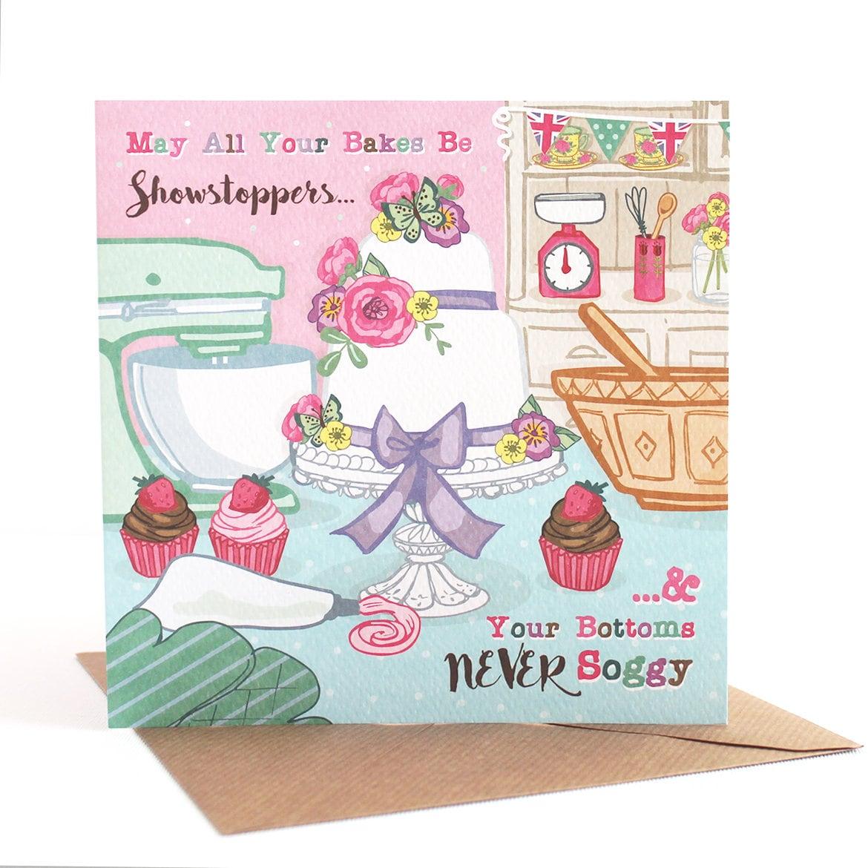 Funny Card Cake Greetings Card Birthday Card Friendship Etsy