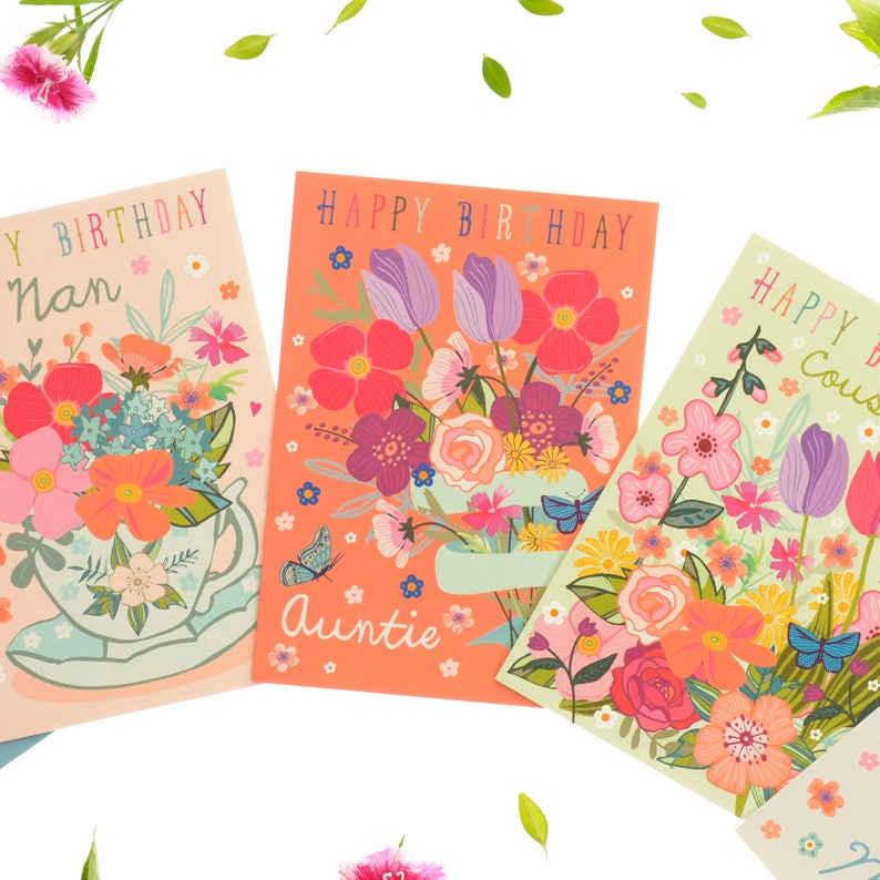 Happy Birthday Auntie Card Best Aunt