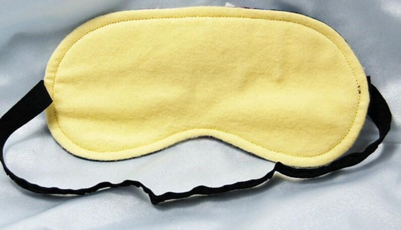 Beauty and the Beast cotton print sleep mask