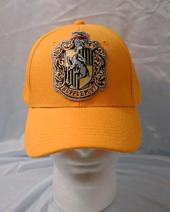 Harry Potter Hufflepuff Crest Hip Flask Laser Engraved House Crest Gift