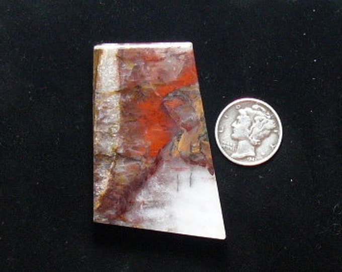 Rare Binghamite rough preformed slab, 30 x 52 x 7.5 mm, natural scarce material from Minnesota (rs1212))