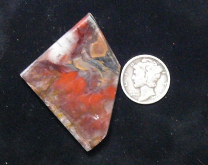 Rare Binghamite rough preformed slab, 35 x 50 x 5.5 mm, natural scarce material from Minnesota (rs122303)