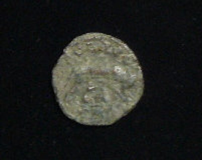 Ancient Roman Coin, she-wolf suckling Romulus and Remus, 21 mm, AD 253-268 (coin91902)