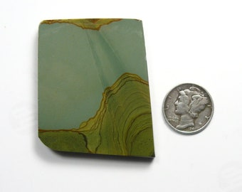 Craig Gulch preformed picture Jasper rough slab, 27 x 34 x 6 mm, rare, natural (rs61512)