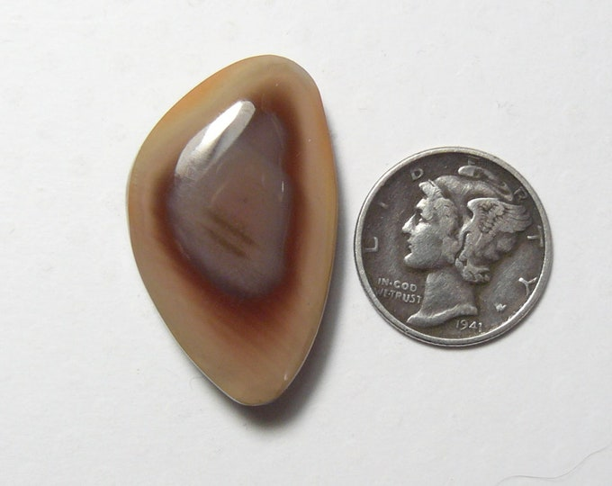 Royal Imperial Jasper designer cabochon, 19 x 30 x 5.5 mm,  natural, mirror finish, for pendant or ring. (c62405)