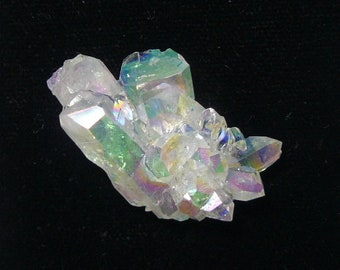 Aurora Azotic natural crystal clusters, Opal color, lab technology (aq9106)