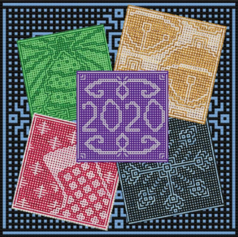 Ashlee's 2020 Holiday Squares part 1: 2020 square image 0