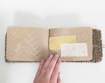 Embroidered Fibers Book