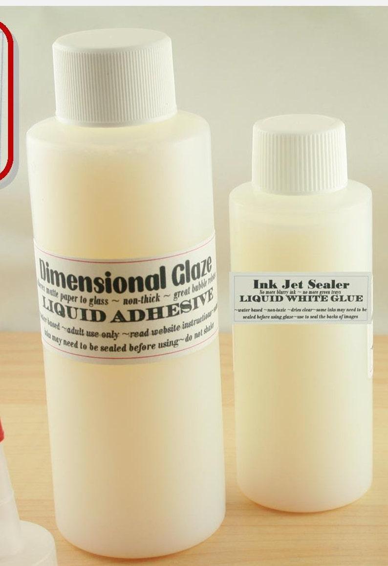 Dimensional Glaze DG Liquid Adhesive-Seals-Adheres Matte image 0