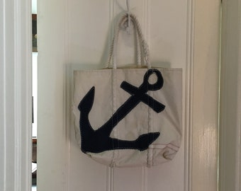 Sea bags tote - made from sailcloth
