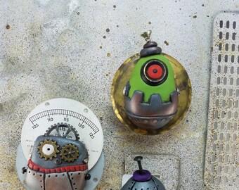 Magnets, Robots