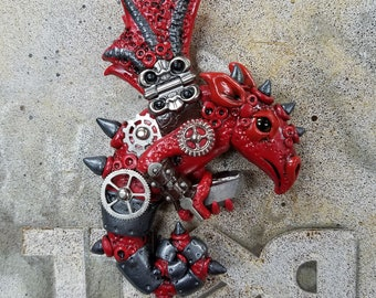 Dragon Magnet, Red