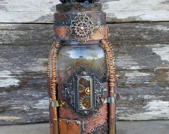 Copper Wire Jar