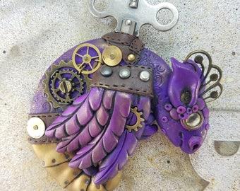 Dragon Magnet, Purple