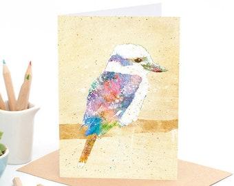 Kookaburra - Greeting card - Sustainably Printed