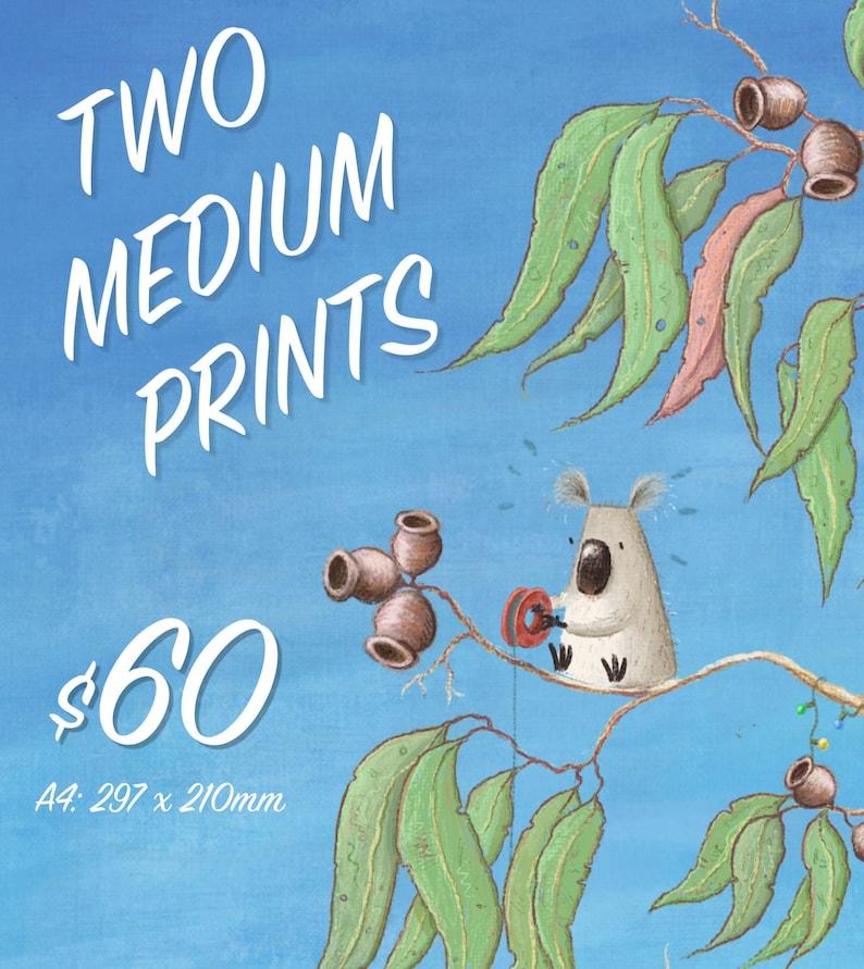 MARKET SPECIAL: Two Medium Prints image 0