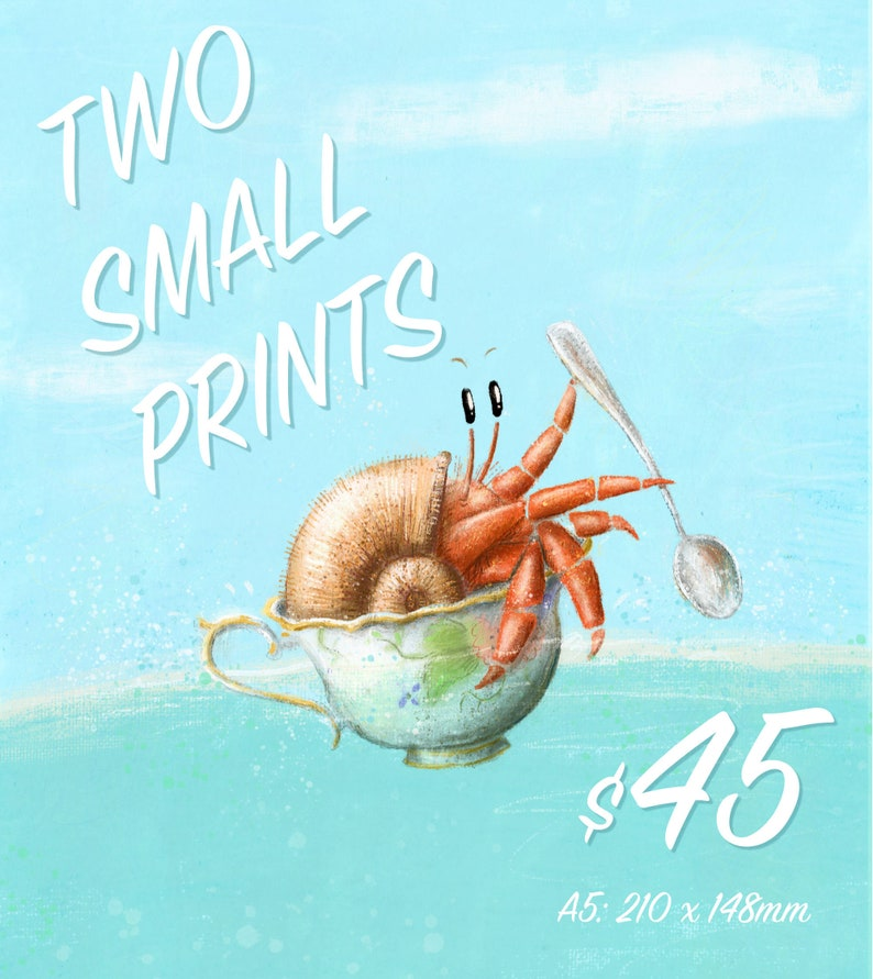 MARKET SPECIAL: Two Small Prints image 0