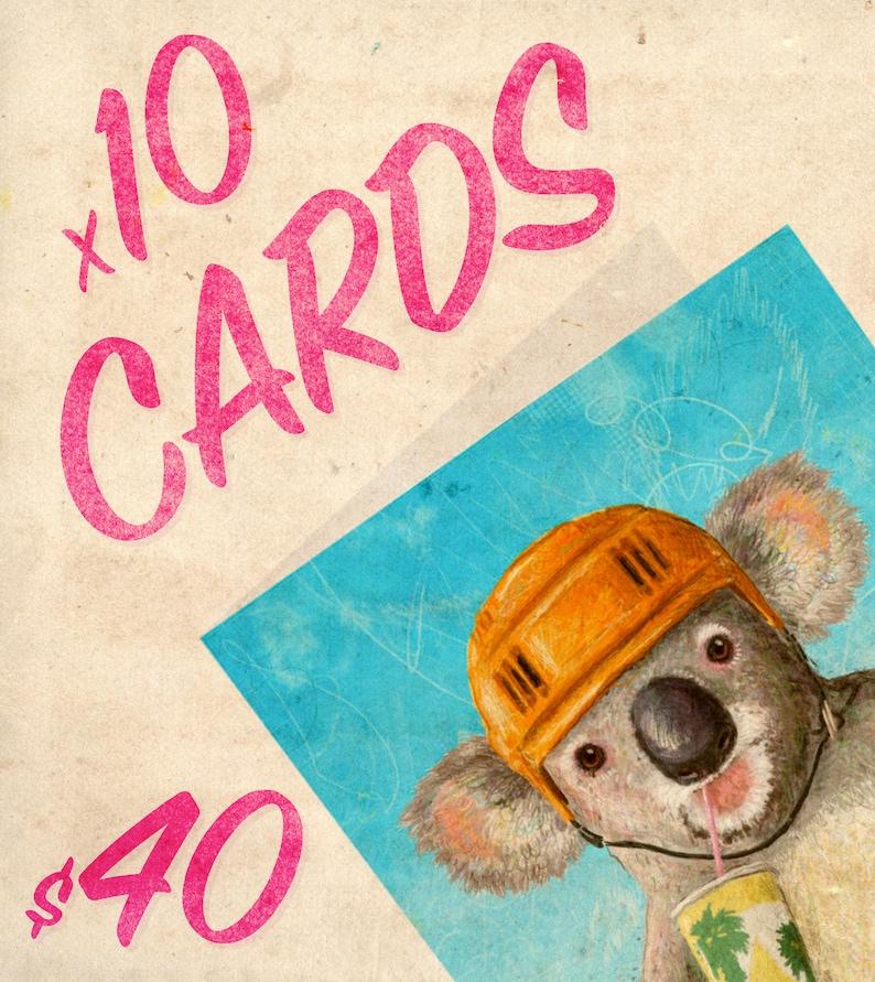 MARKET SPECIAL: Ten Cards image 0