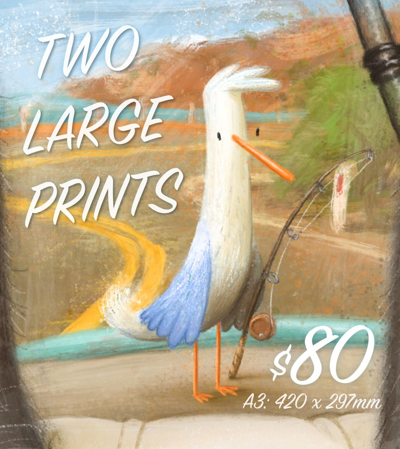 MARKET SPECIAL: Two Large Prints image 0