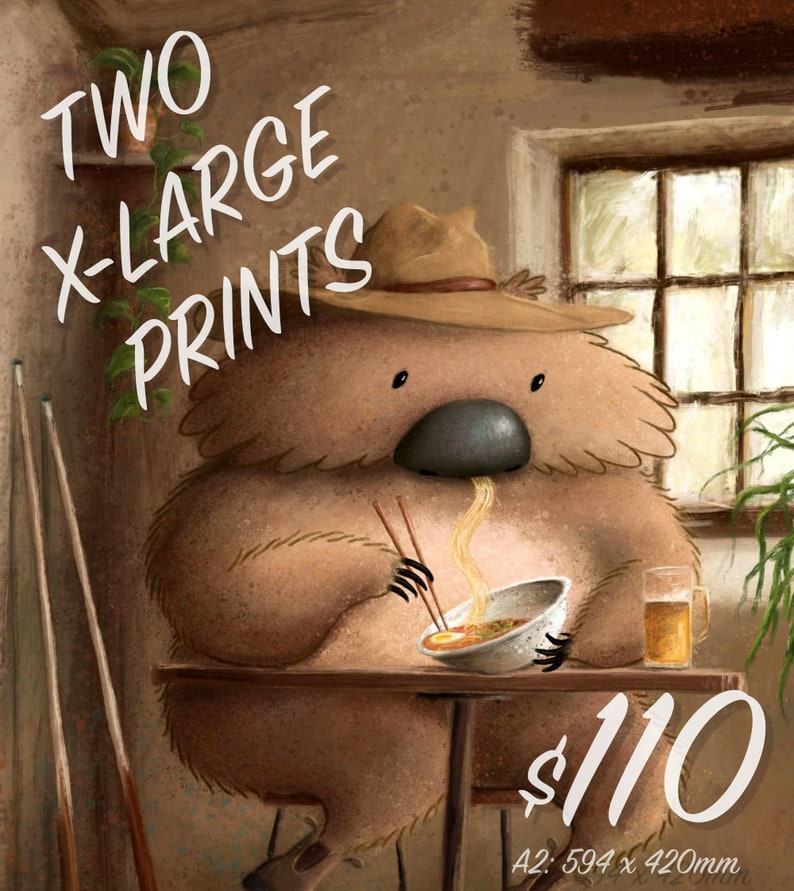 MARKET SPECIAL: Two Extra Large Prints image 0