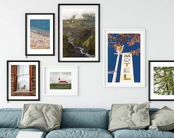 FRAME ANY PHOTO - mat included - framed photography - framed art - fine art photos - large art - ready to hang - wall art - oversize art
