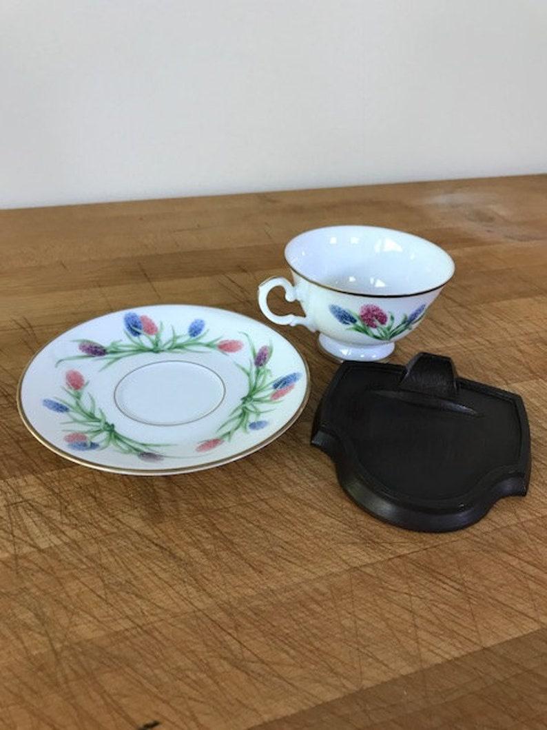 Hyacinthus Franklin Mint Porcelain VanNederland Series Tea Cup