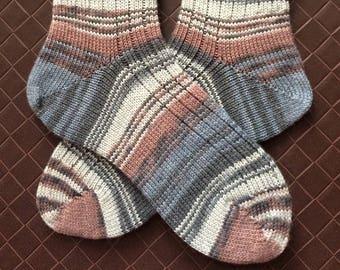 Jill2 Hand Cranked Knit Socks