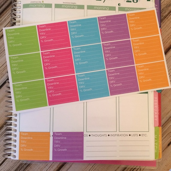direct sales stats trackers direct sales planner stickers etsy