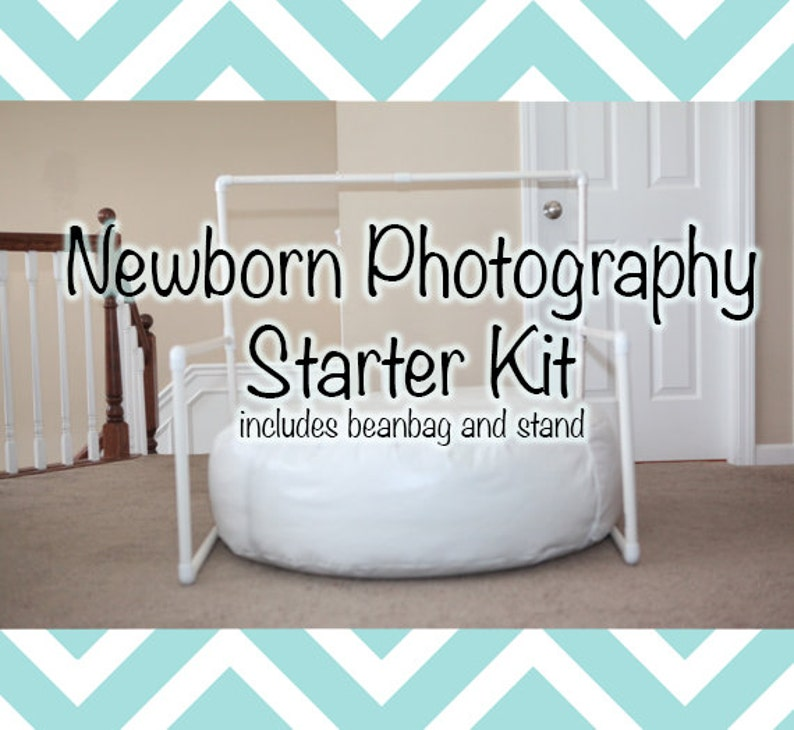 Newborn Photography Starter Kit Includes Backdrop Stand And Etsy