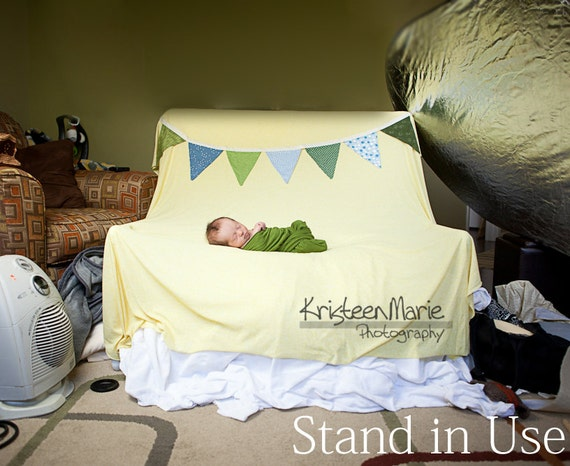 Backdrop stand for newborn photography works with any size