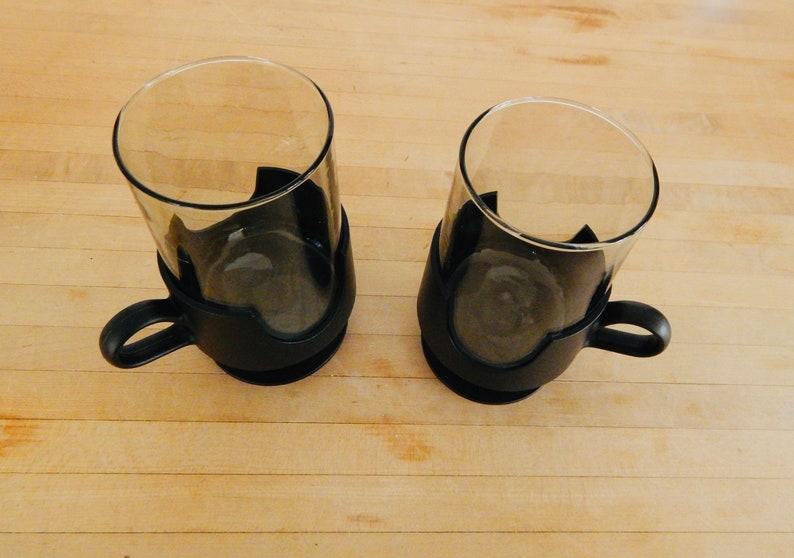 70s Corning Snap Glass Retro Drinking Mugs