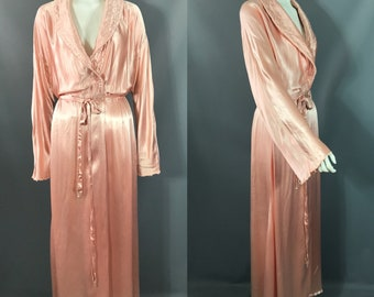 00344d7fd1 1930s charmeuse dressing gown