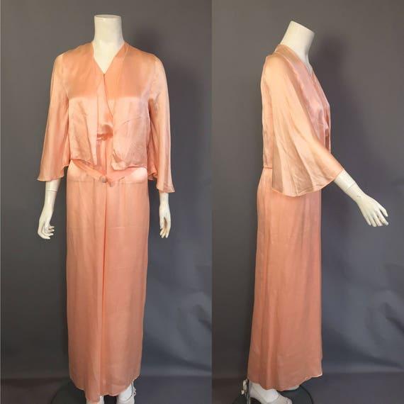 1930s lounge pyjamas / beach pyjmas / jumpsuit - image 2