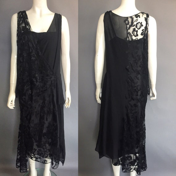 1920s evening dress by Drecoll couture