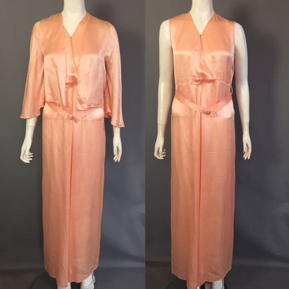 1930s lounge pyjamas / beach pyjmas / jumpsuit
