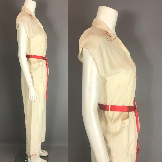 1930s silk pyjamas - image 7
