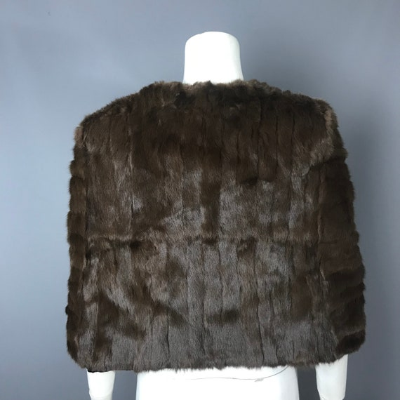 1940s fur cape - image 3