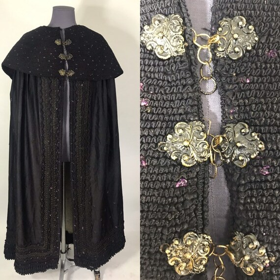 Victorian cloak, german traditional folk dress