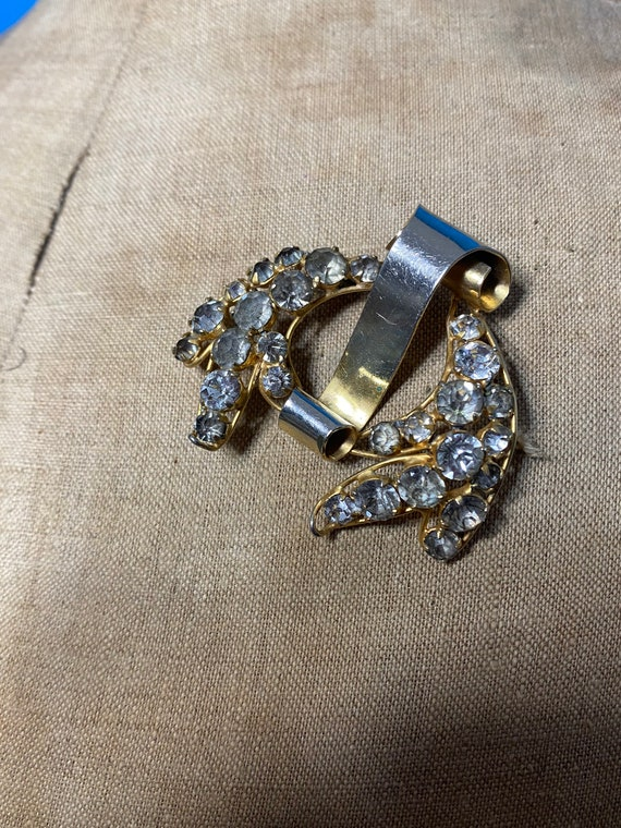 1940s Fred A Block brooch