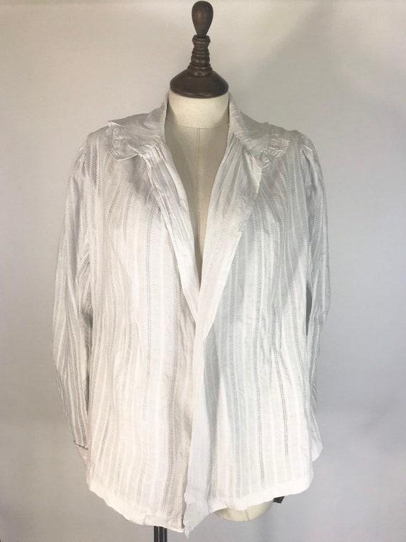 Edwardian duster jacket, summer jacket