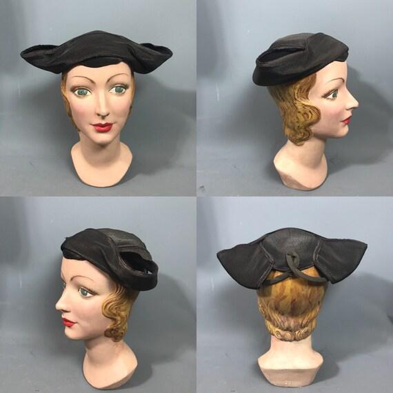 1930s bicorn hat