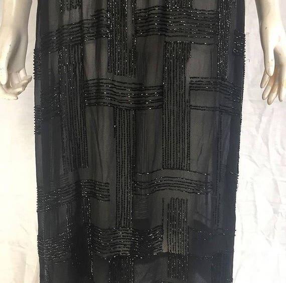 1920s beaded dress - flapper dress - image 4