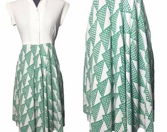 1930s 1940s summer dress