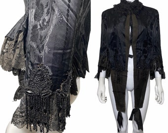 Victorian cape c1880s, Victorian jacket or shawl