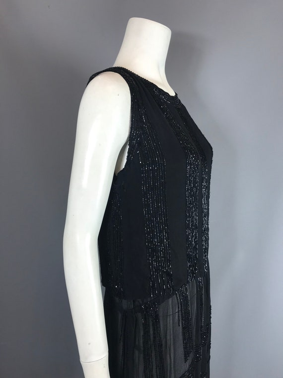 1920s beaded dress - flapper dress - image 5